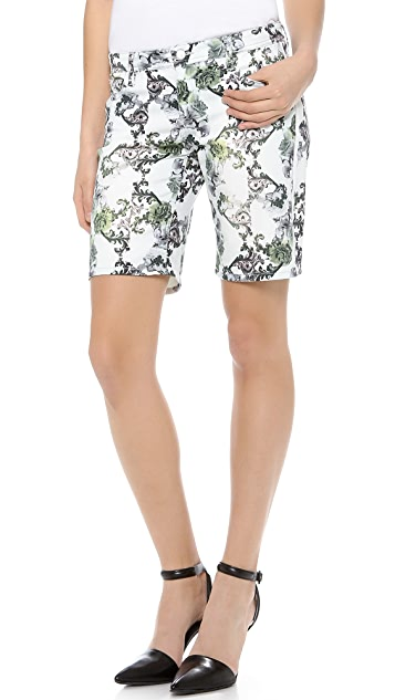 Faith Connexion Crown Print Bermuda Shorts