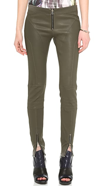 Faith Connexion Leather Leggings