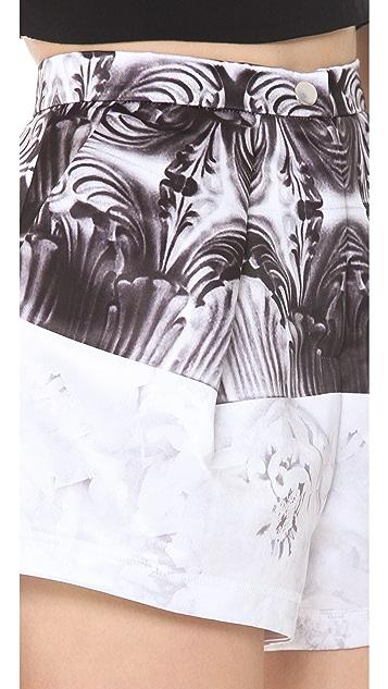 Faith Connexion Tiger Printed Short