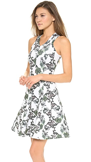 Faith Connexion Crown Print Neoprene Dress