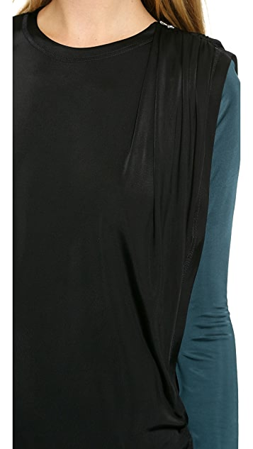 Faith Connexion Fluid Drape Dress