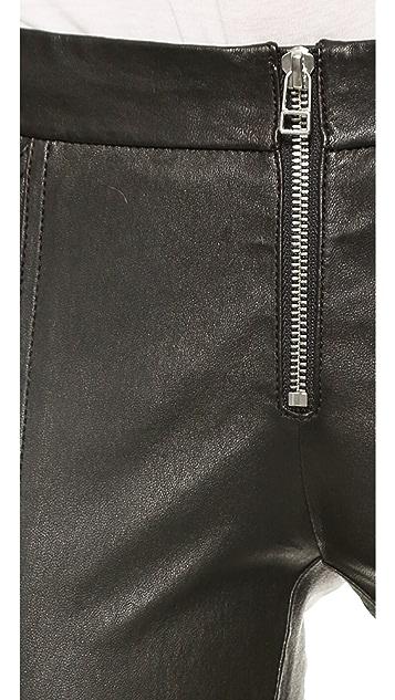 Faith Connexion Stretch Leather Pants
