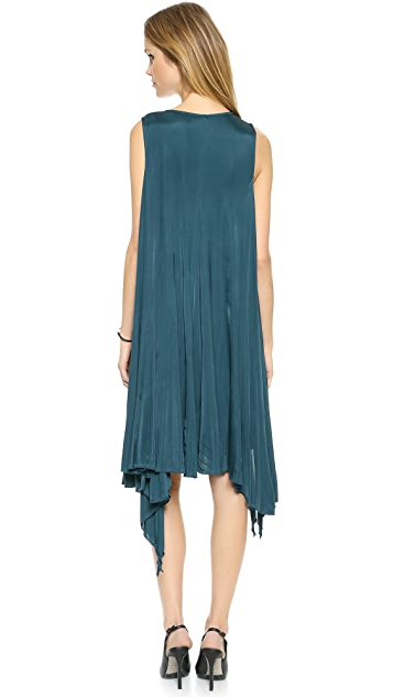 Faith Connexion Draped Jersey Dress