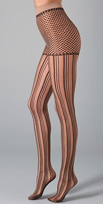Falke Lines & Dots Tights