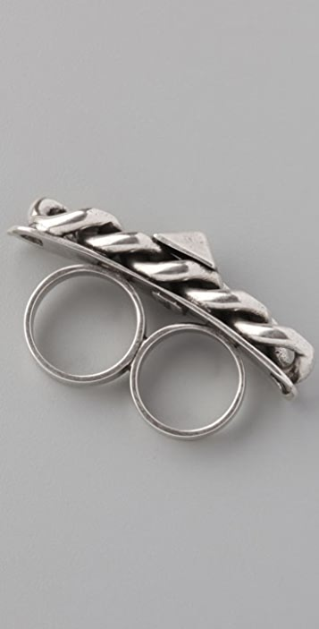 Fallon Jewelry Chain Bar Ring