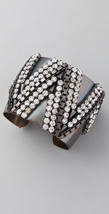 Fallon Jewelry Victoria Fair Isle Cuff