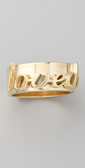 Fallon Jewelry Loved ID Ring