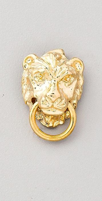 Fallon Jewelry Gia Lion Stud Earrings