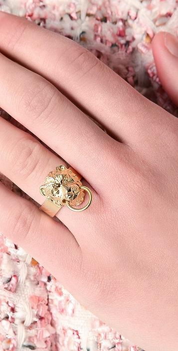 Fallon Jewelry Gia Lion Ring