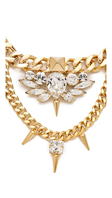 Fallon Jewelry Classique Crystal Necklace