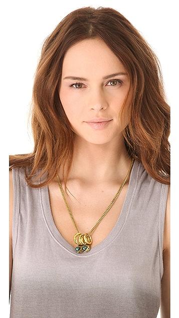 Fallon Jewelry Rattlesnake Necklace