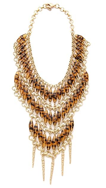 Fallon Jewelry Durango Beaded Bib Necklace