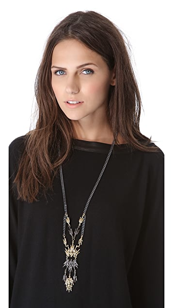 Fallon Jewelry Winged Duster Necklace