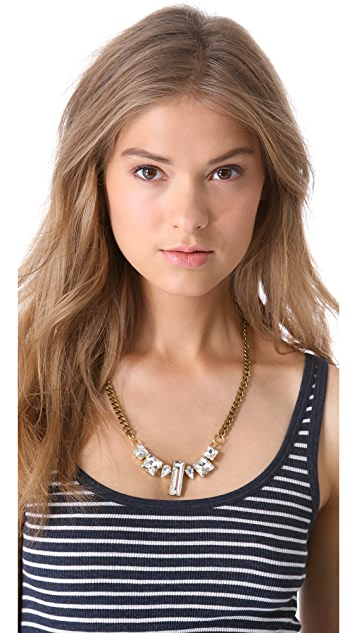 Fallon Jewelry Crystal Chain Choker