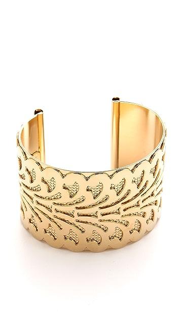 Fallon Jewelry Filigree Cuff Bracelet
