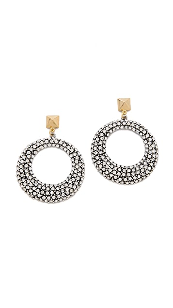 Fallon Jewelry Pave Earrings