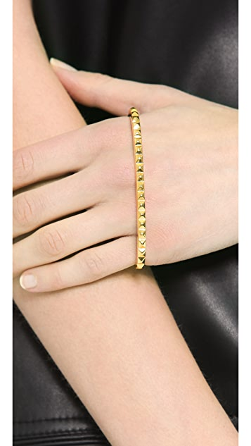 Fallon Jewelry Studded Palm Cuff Bracelet