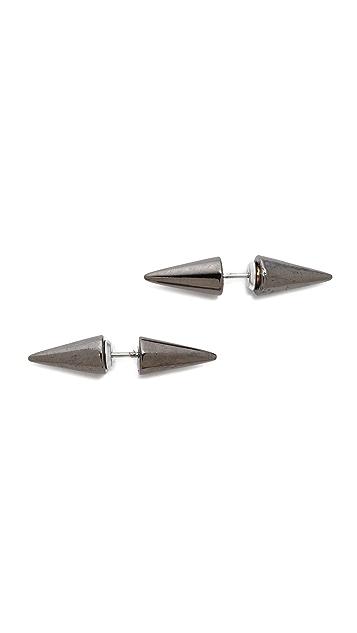 Fallon Jewelry Double Microspike Earrings