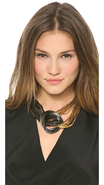 Fallon Jewelry Liquid Knot Necklace