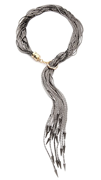 Fallon Jewelry Liquid Tail Lariat Necklace