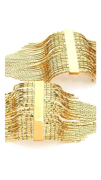 Fallon Jewelry Liquid Fringe Pin Epaulet Set