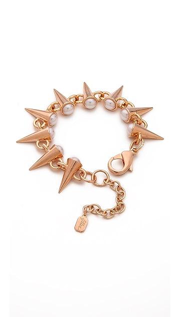 Fallon Jewelry Swarovski Imitation Pearl Spike Bracelet