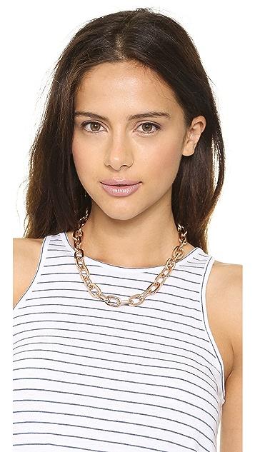 Fallon Jewelry Shalom Long Link Choker