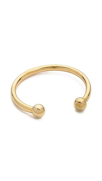 Fallon Jewelry Shalom Ball Cuff Bracelet