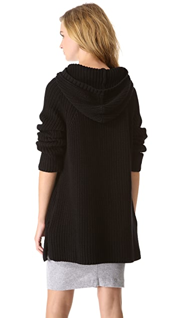 525 America Cotton Shaker Hooded Sweater