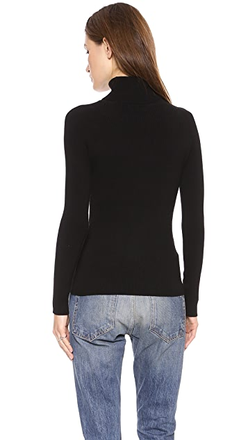 525 America Rib Turtleneck Sweater