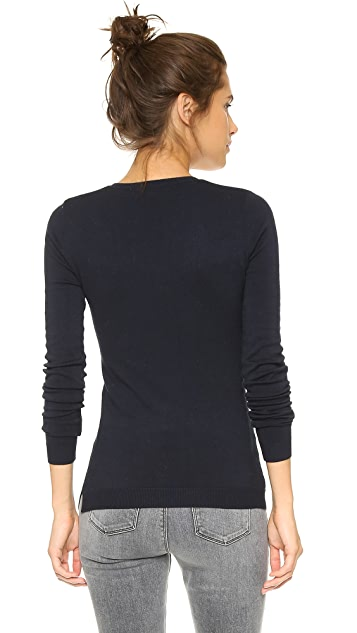 525 America Low V Neck Sweater