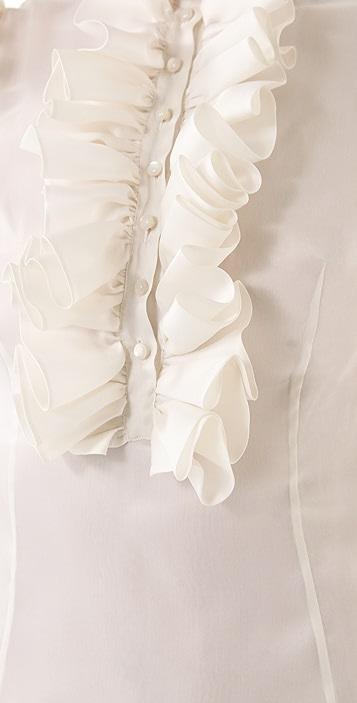 Fancy Katie Ruffle Sleeve Dress