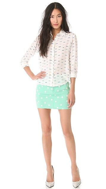 Friends & Associates Chika Button Down Shirt