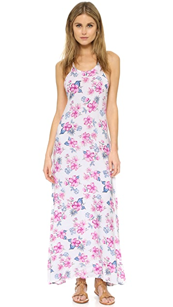 Frankies Bikinis Rae Halter Maxi Dress