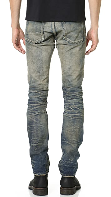 Fabric Brand & Co. Beta Slim Selvedge Jeans