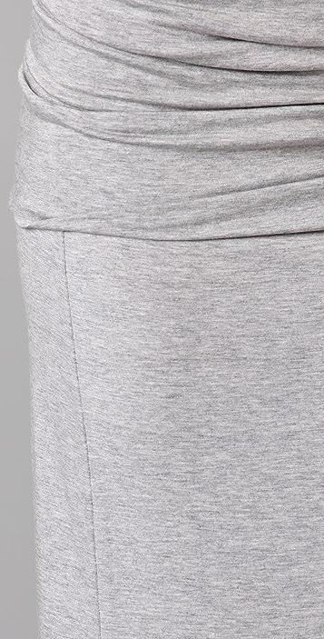 Feel The Piece Fold Over Long Skirt