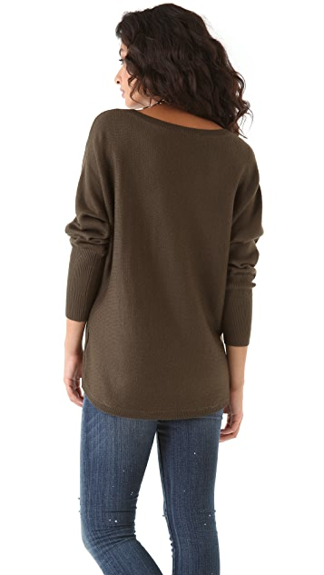 Feel The Piece Dolman Sleeve Sweater