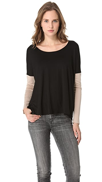 Feel The Piece Two Tone Chloe Top