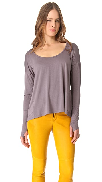 Feel The Piece Heidi Boat Neck Top