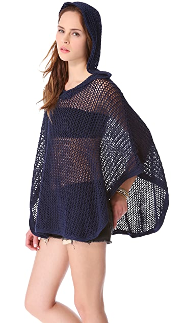 Feel The Piece Poncho Top