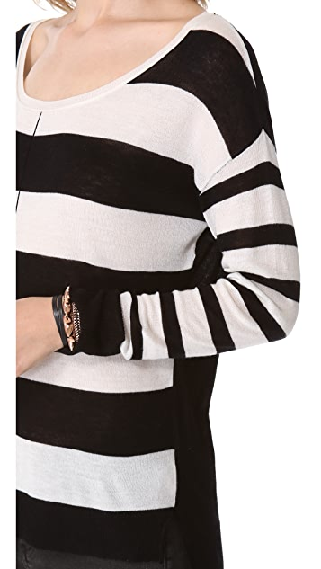 Feel The Piece Multi Stripe Sweater