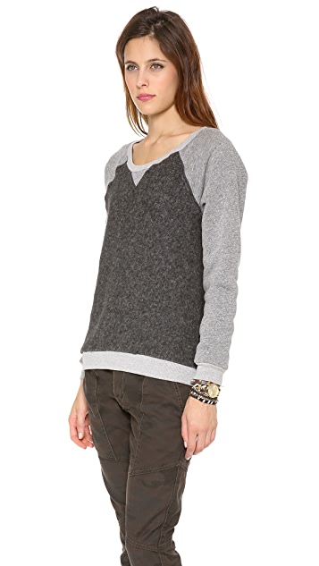 Feel The Piece Shawna Raglan Sweatshirt