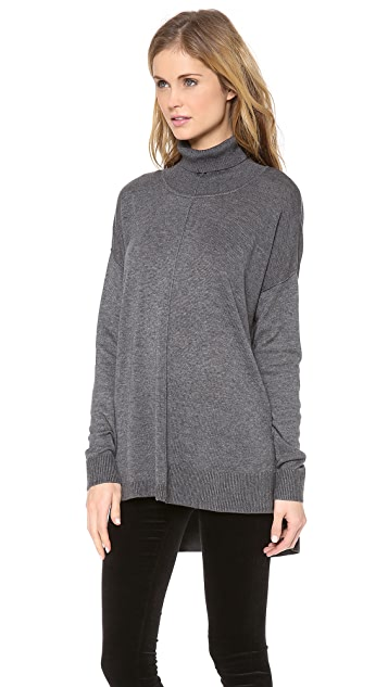 Feel The Piece Turtleneck Sweater
