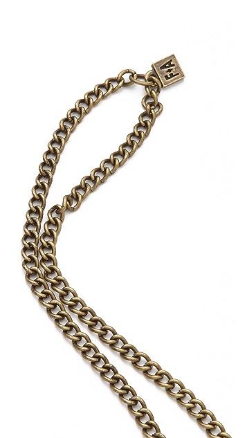 FELIKS+ADRIK Python Pendant Necklace