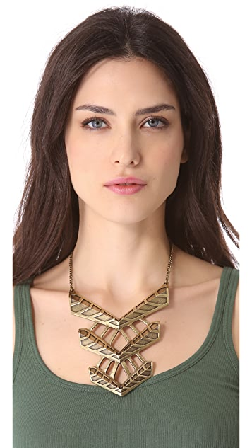 FELIKS+ADRIK Turritella Chest Plate Necklace