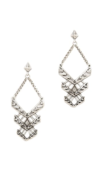 FELIKS+ADRIK Cutout Turritella Earrings