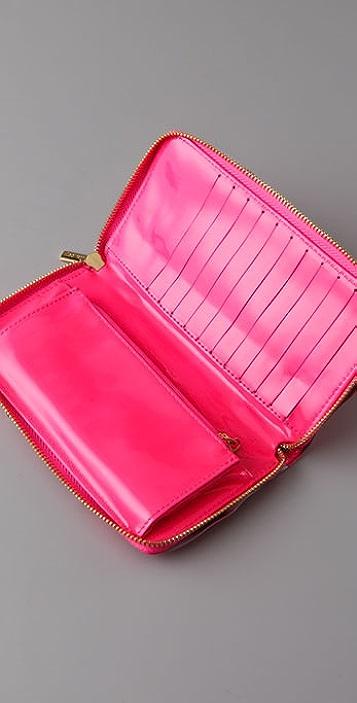 Felix Rey Ruffle Wallet Clutch