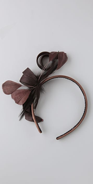 Felix Rey Mesh Spiral Headband