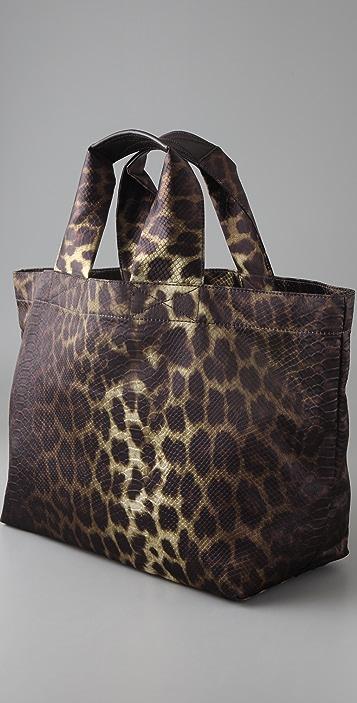 Felix Rey Sardinia Leopard Tote