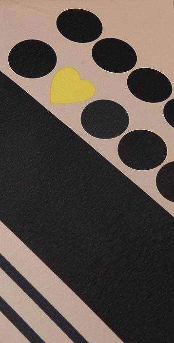 Felix Rey Vintage Dot Print Umbrella